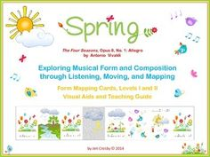 Spring by Vivaldi - listening, Moving and Mapping Activities
