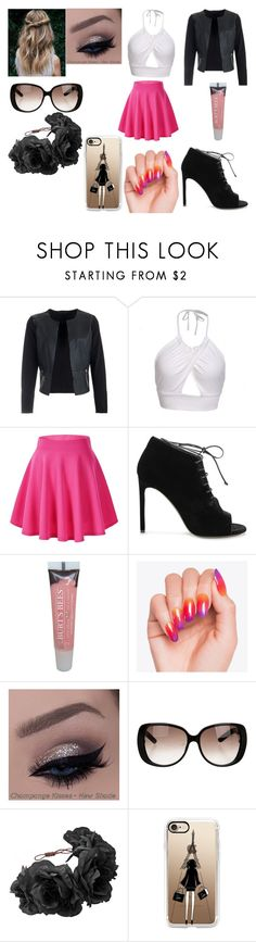 """#118"" by rose-s-b on Polyvore featuring Yves Saint Laurent, Burt's Bees, Gucci, Rock 'N Rose and Casetify"
