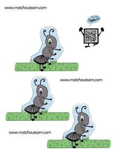 Good marionnette doigt fourmi
