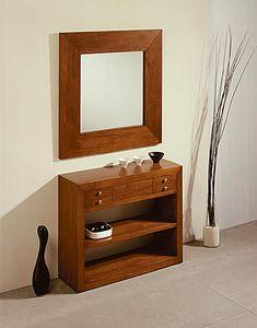 Muebles Portobellostreet.es: Consola 1 Cajón Sunkai - Consolas Coloniales y Rústicas - Muebles Coloniales y Muebles Rústicos