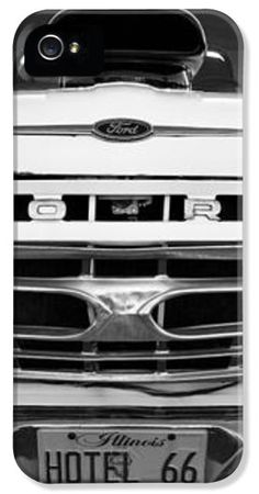 Ford Grill iPhone and Galaxy Case by John Rizzuto