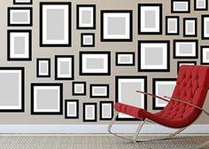 Eigene Bilderwand gestalten - so klappt es ganz einfach