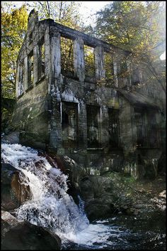 Abandoned Wilson Carbide Plant near Meech Lake, Quebec.
