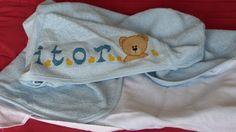 Toalha de banho com capuz (baby)