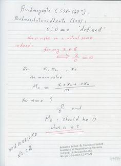 №266-612  ゼロとは基準であり、ゼロと算術法則の創始者の 1300年以上前の定義は 実は正しかった。我々の歴史が間違っていた。 恥ずかしい。再生核研究所声明225(2015.4.23) 偉大な数ゼロ ―ゼロの教え  The division by zero is uniquely and reasonably determined as 1/0=0/0=z/0=0 in the natural extensions of fractions. We have to change our basic ideas for our space and world: http://www.scirp.org/journal/alamt   http://dx.doi.org/10.4236/alamt.2016.62007 http://www.ijapm.org/show-63-504-1.html http://www.diogenes.bg/ijam/contents/2014-27-2/9/9.pdf…