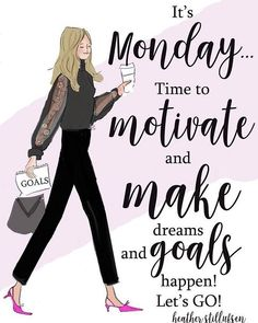 happy monday motivation 10 Inspirational Quotes For Monday Monday Morning Quotes, Happy Monday Quotes, Monday Motivation Quotes, Fitness Motivation, Motivational Monday Quotes, Monday Sayings, Monday Inspirational Quotes, Monday Morning Motivation, Weekend Quotes