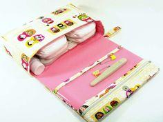 Matryoshka dolls diaper bag new parents baby gift by purseNmore
