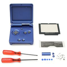 Shell Housing Replacement For Nintendo Gameboy Advance SP GBA SP Console Blue