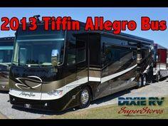 2013 Tiffin Allegro Bus For Sale Dixie RV Hammond, Louisiana Small Motorhomes, Tiffin Motorhomes, Hammond Louisiana, Rv Videos, Tiffin Allegro, Buses For Sale, Rv Dealers, Color, Model