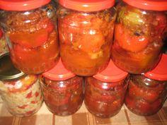 Expertul Acasa.ro, Mihaela Vulpe: Gogosari umpluti cu vinete, in bulion Salsa, Cooking Recipes, Jar, Vegetables, Food, Canning, Meal, Salsa Music, Food Recipes