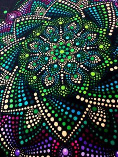 Aboriginal Dot Painting, Dot Art Painting, Mandala Painting, Stone Painting, Mandala Canvas, Mandala Dots, Mandala Design, Painting Templates, Painting Patterns