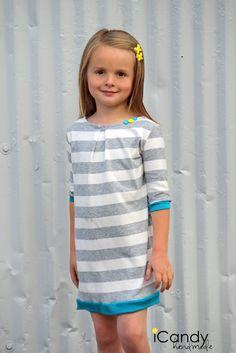icandy handmade: (tutorial and pattern) Boxy Pleat Dress