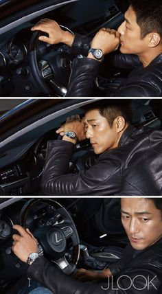 Actor Ji Jin-hee from 'I Have A Lover' was featured in the lifestyle magazine JLOOK. He wore a wide range of outfits from suits to leather jackets with a matching manly watch.