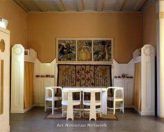 Hvitträsk, the home and studio of the architects Herman Gesellius, Armas Lindgren and Eliel Saarinen, 1903.. Author: Markku Haverinen / Nati...