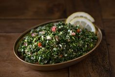 Have Veggies? Make a Fresh and Bright Tabbouleh Salad