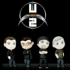 U2 Dolls, so cute <3