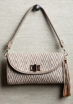 <3 <3 <3  Edna Woven Clutch by Melie Bianco for Ruche.  $62.99