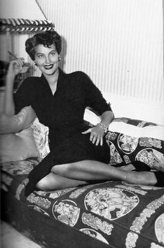 Ava Gardner photographed by Sammy Davis Jr, 1954