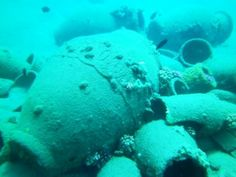 Final pot photo - If you would like to donate an amphoras to our artificial reef project contact our reservations team by our on-line chat on our website.
