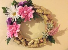 Wine Cork Wreath on Etsy, $29.99