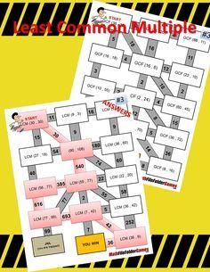math worksheet : fractions fraction mazes  fraction worksheet bundle http  www  : Math Cafe Worksheets