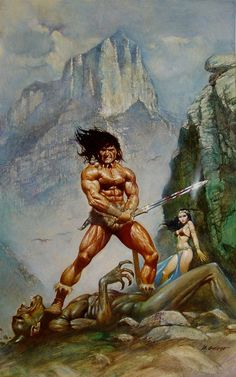 Conan - 1 Comic Art