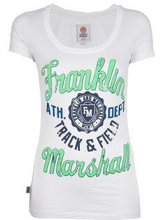 FRANKLIN and MARSHALL Camiseta Branca.