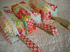 A Quilting Life - a quilt blog: Sewing with Scraps