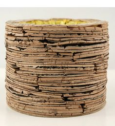 11.00 SALE PRICE! Arrange your flowers in this woodland-inspired layered Birch Bark Pot for a creative centerpiece. This rustic vessel harmonizes with rustic...