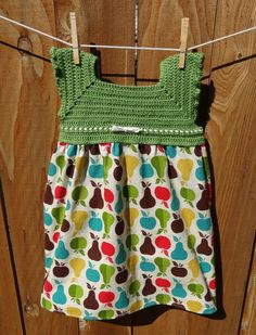 Girls' Dress - no pattern at this site but would like to figure this out by spring!