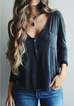 Clothes outfit for woman * teens * dates * stylish * casual * fall * spring * winter * classic * casual * fun * cute* sparkle * summer Mode Outfits, Fall Outfits, Summer Outfits, Casual Outfits, Fashion Outfits, Womens Fashion, Ladies Fashion, Outfits 2016, Fashion Hair