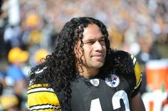 Troy Polamalu, Pittsburgh Steelers. This one's for you, Mom.