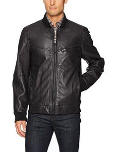 "Sheep skin bomber with rib knit detail and single chest pocket   	 		 			 				 					Famous Words of Inspiration...""I don't care what is written about me, so long as it isn't true.""					 				 				 					Dorothy Parker 						— Click here for more from Dorothy...  More details at https://jackets-lovers.bestselleroutlets.com/mens-jackets-coats/leather-faux-leather/product-review-for-andrew-marc-mens-martense-26-5-sheep-bomber-jacket/"