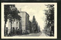 old postcard: AK Augsburg, Blick auf Infanteriekaserne