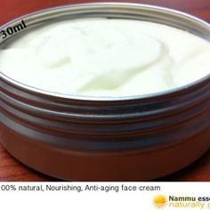 Nammu Essentials - Handmade Natural Anti-Wrinkle and Anti-Aging Soothing, and  Rejuvenating Rich Cream for your Face – Vitamin E, Avocado, Argan, Hempseed Oil +. This is a really rich handmade soothing facial cream...