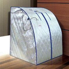 XLarge Infrared IR FAR Portable Indoor SPA Sauna 1 YEAR WARRANTY, (sauna, infrared sauna, detox, fir, infrared, infra-red sauna, sweat, far infrared sauna, spa, sweat suit)