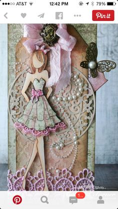 Great DIY card for a younger sister or a friend