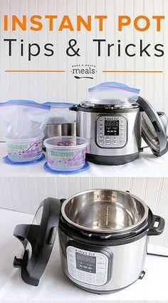 Instant Pot Tips & Tricks / Once a Month Meals Power Pressure Cooker, Pressure Pot, Instant Pot Pressure Cooker, Pressure Cooker Recipes, Pressure Cooking, Instant Recipes, Instant Pot Dinner Recipes, Instant Crock Pot, Fast Cooker
