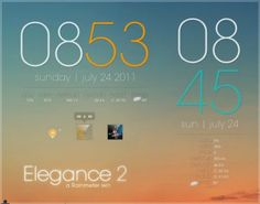 Elegance 2 is the updated and polished version of the ever popular Elegance by Lilshizzy. Apart from being beautifully minimal, Elegance 2 is also very Cool Calendars, Good Dates, Pen And Paper, Corner Designs, User Interface, Minimalist Design, Projects To Try, Design Inspiration, Deviantart