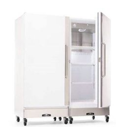 Arctic Air makes some good commercial freezers and fridges