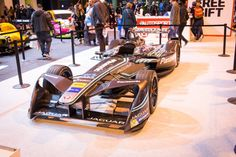 You can't think about the Autosport International without the Formula 1 cars. Like previous years, Autosport brought the last year's F1 cars and the good old ones (aka retro)! However, this time, there was something really special. The Formula E car from Jaguar Racing team. Here they are…