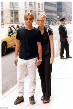 She broke his heart: Gwyneth said she ended her engagement to Brad in 1997