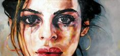 "Saatchi Online Artist thomas saliot; Painting, ""Big tears"" #art"