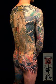 Japanese tattoo, The Great Shige @ YellowBlaze Strikes Again! | Japanese Tattoo Log