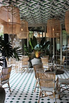 10 HOSPITALITY PROJECTS WITH ALTERNATIVE TROPICAL DECOR_see more inspiring articles at http://www.homedesignideas.eu/hospitality-projects-alternative-tropical-decor/