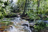 Rivelin Valley by C. Art Exhibitions, Open Art, South Yorkshire, Sheffield, Past, Centre, England, Gallery, Water
