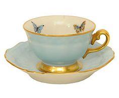 Xícara de café leila azul - 85ml