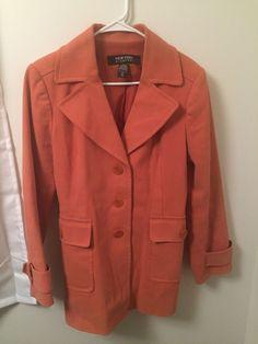 313b152a43 Women Jones New York Light Gray 3 Button Business Casual Blazer Jacket Size  10