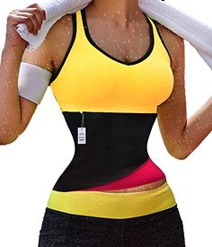Hot Thermo Sweat Neoprene Shapers Slimming Belt Waist Cincher For Weight Loss M Rose >>> Click image to review more details.