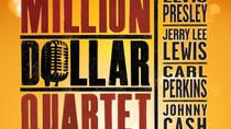 Million Dollar Quartet at Apollo Theater Chicago, Chicago, Theater, Shows & Musicals. View more tours & activities at: www. Theater Chicago, Chicago Tours, Chicago Chicago, Johnny Cash, Apollo Theater, Chicago Shows, Dollar, Cool Things To Buy, Broadway